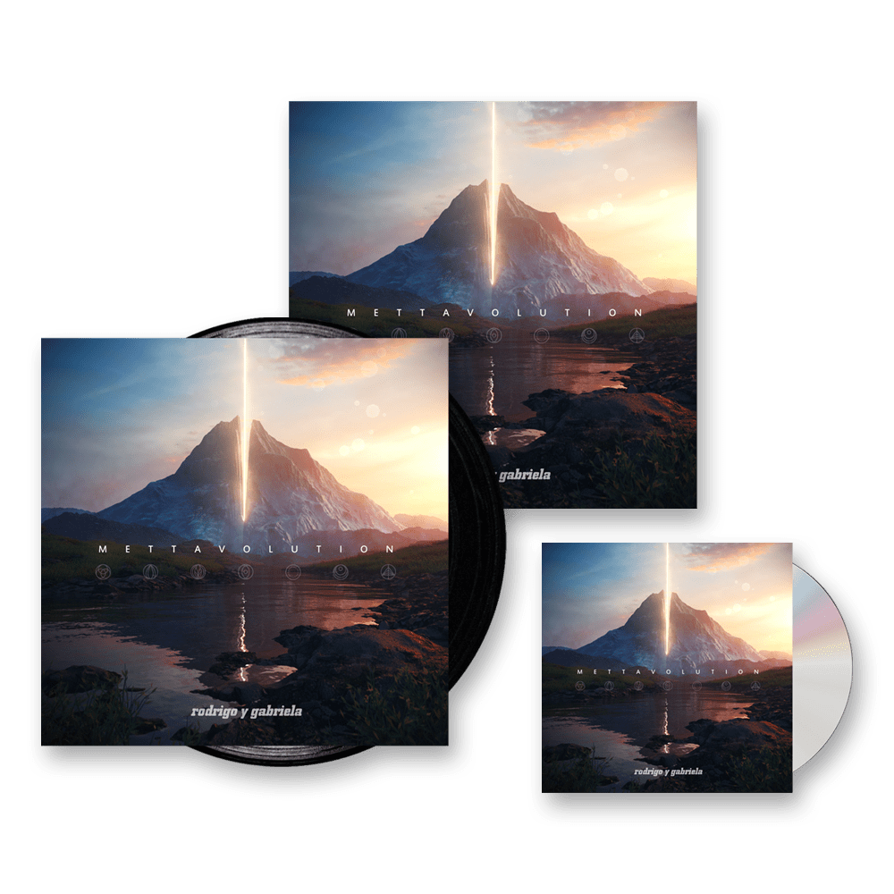 Rodrigo Y Gabriela Mettavolution Hardback Book Cd Album
