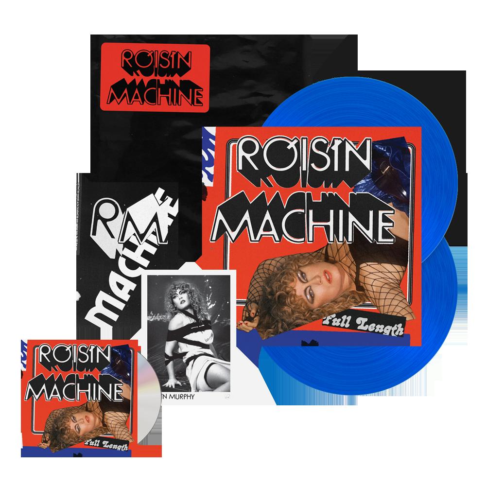 Buy Online Roisin Murphy - Róisín Machine CD + Transparent Blue Double Vinyl (w/ Zine + Signed Photo) (Exclusive Ltd Edition)
