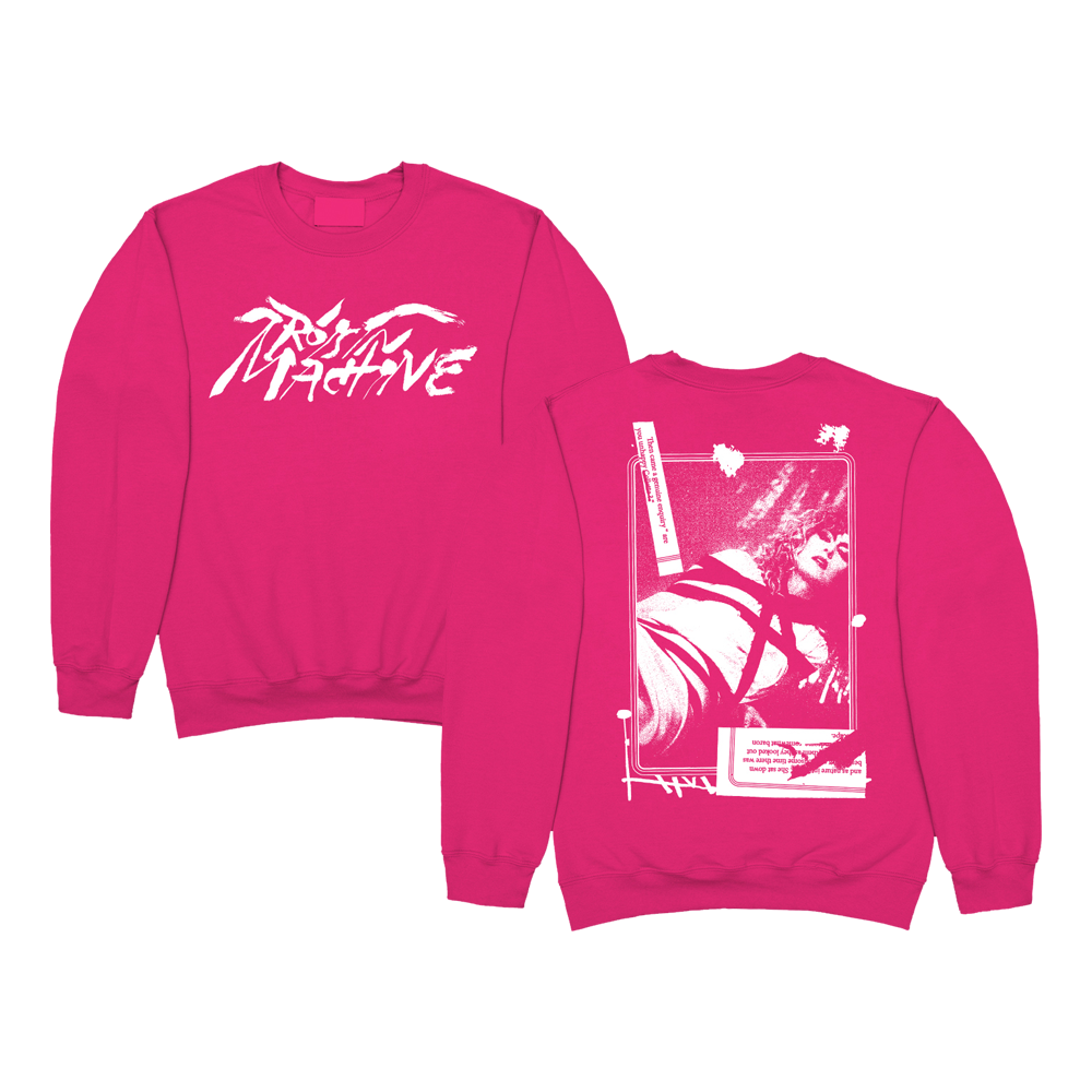 Buy Online Roisin Murphy - Genuine Enquiry Pink Sweatshirt