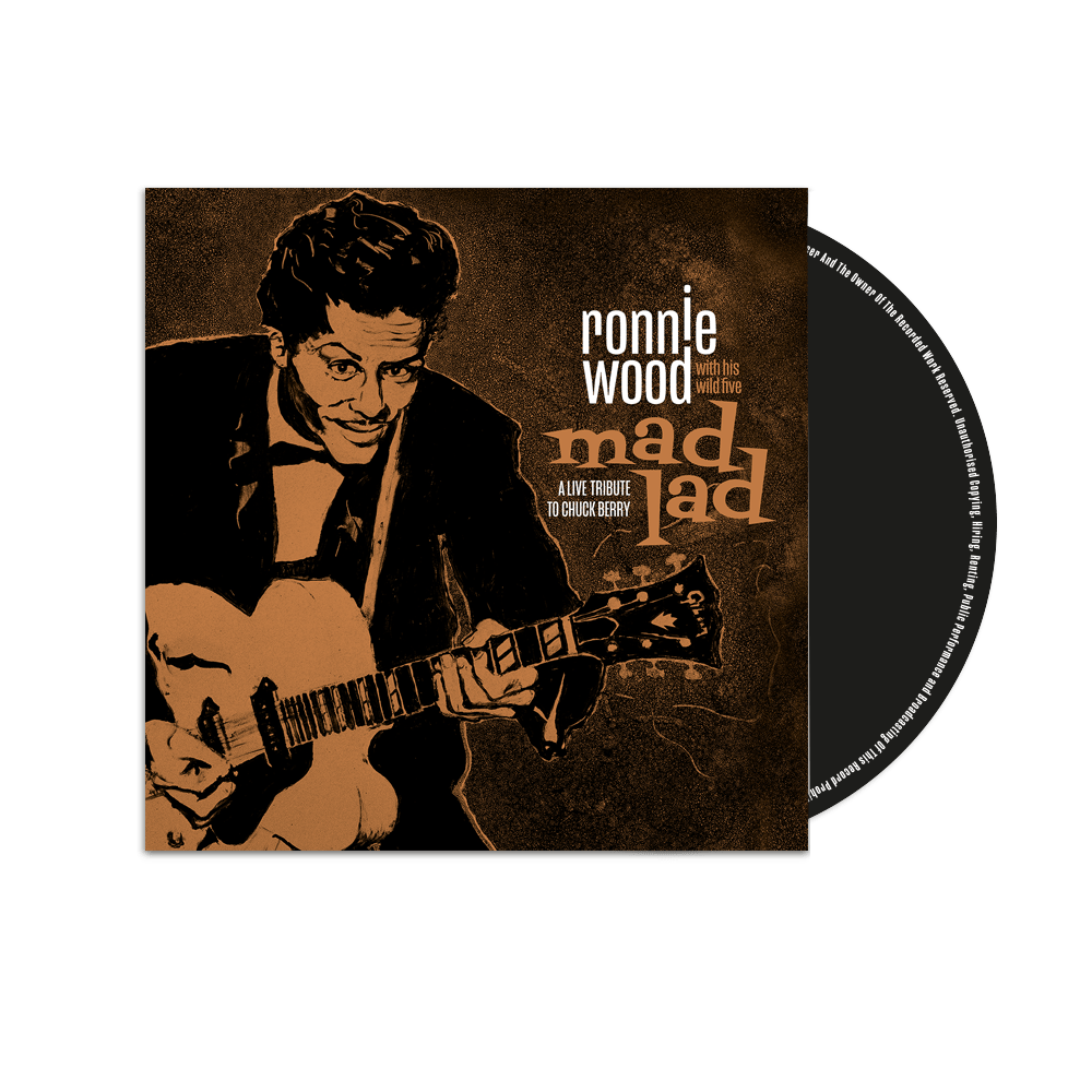 Buy Online Ronnie Wood with His Wild Five - Mad Lad: A Live Tribute to Chuck Berry