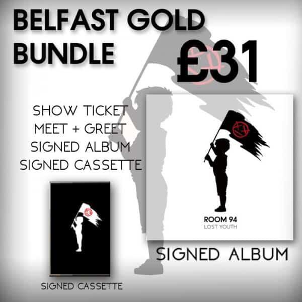 Buy Online Room 94 - Belfast Gold VIP/Ticket Bundle
