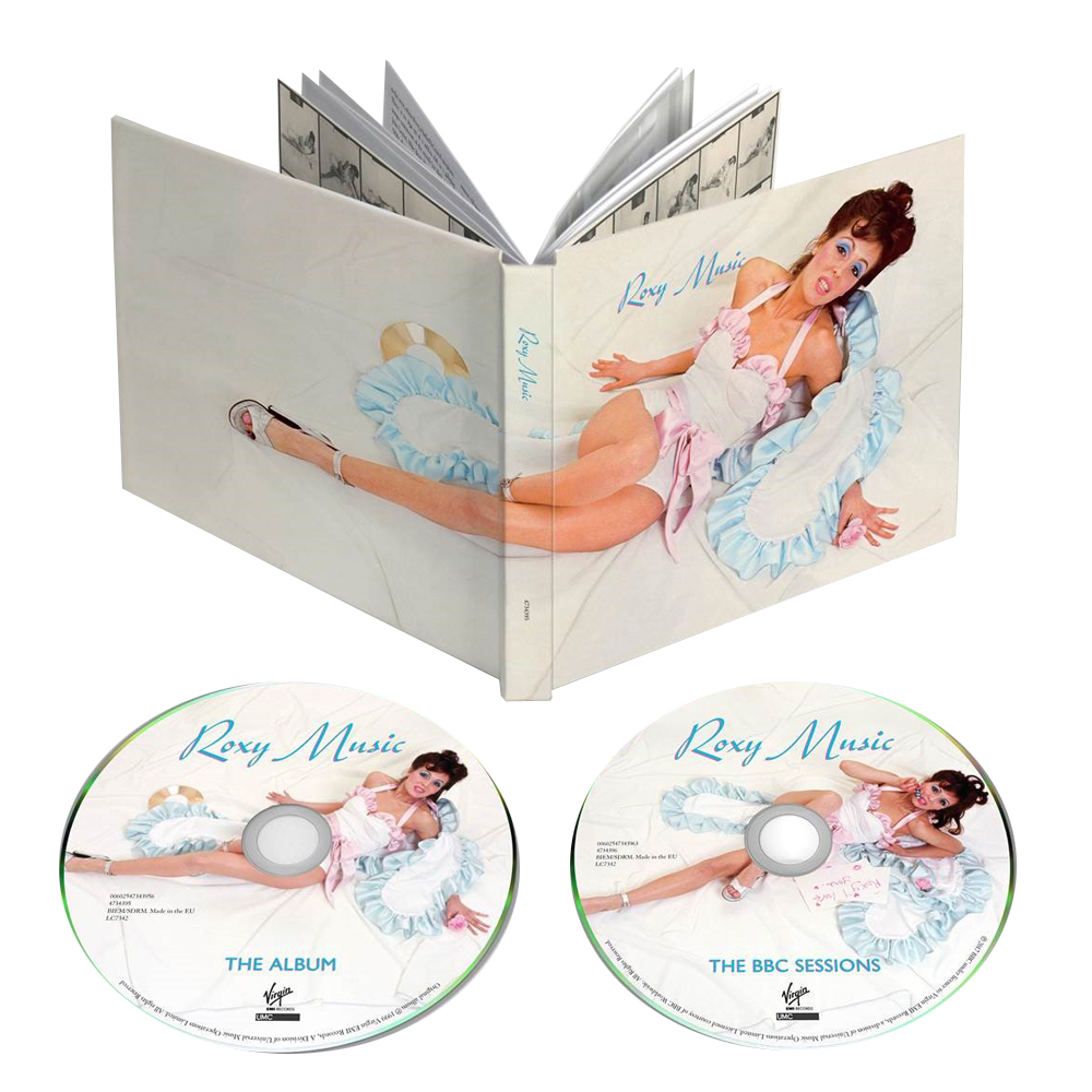 Buy Online Roxy Music - Roxy Music: 45th Anniversary 2CD Deluxe Edition + Original Album Release Print