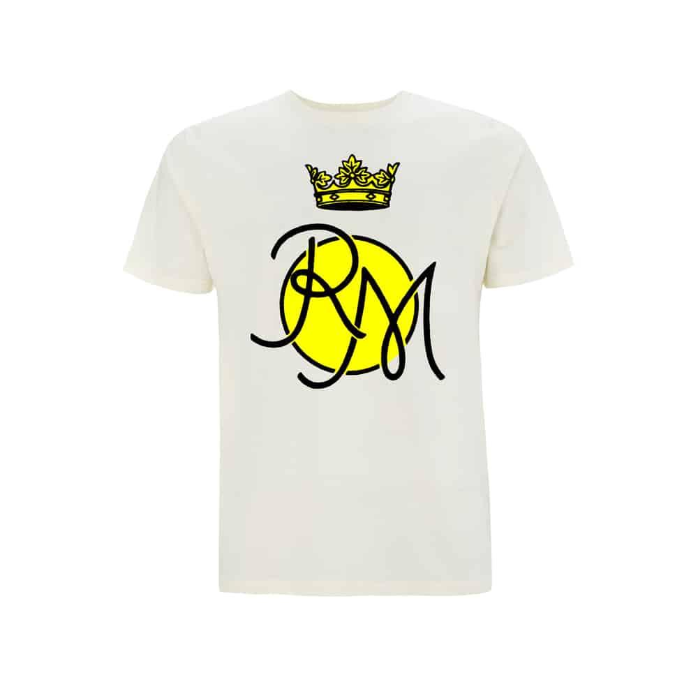 Buy Online Roxy Music - Circle T-Shirt White T-Shirt