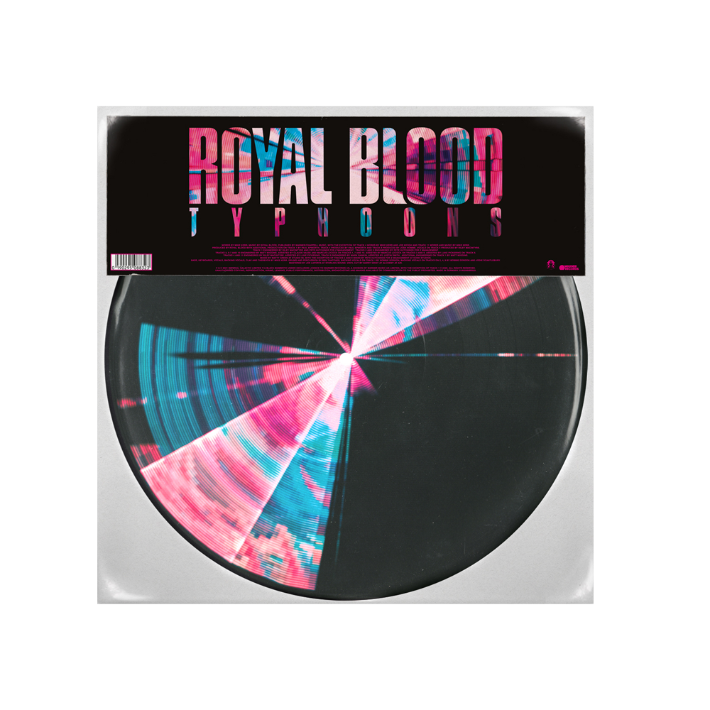Buy Online Royal Blood - Typhoons Picture Disc