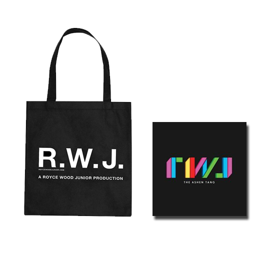 Buy Online Royce Wood Junior - The Ashen Tang CD + Tote Bag