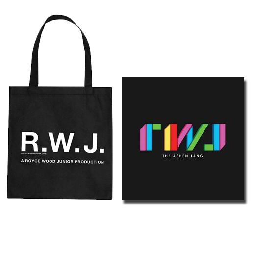 Buy Online Royce Wood Junior - The Ashen Tang LP & Tote Bag