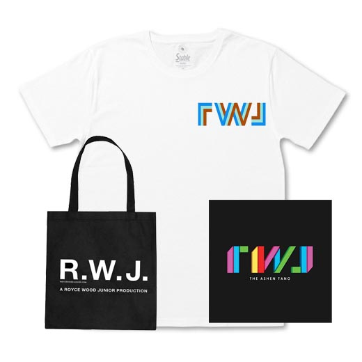 Buy Online Royce Wood Junior - The Ashen Tang Vinyl + Tote Bag + White T-Shirt