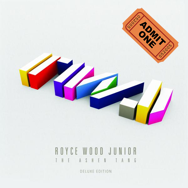 Buy Online Royce Wood Junior - The Ashen Tang (Deluxe Edition CD) & Ticket