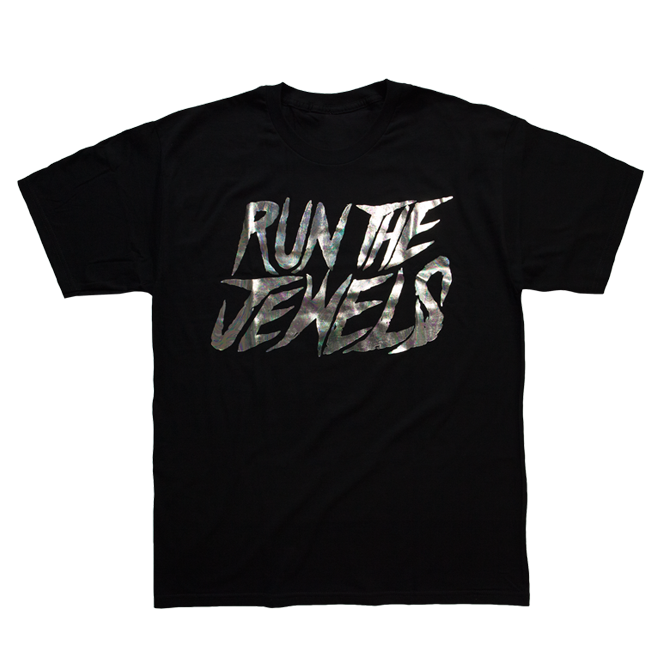 Buy Online Run The Jewels - RTJ Oil Slick T-Shirt