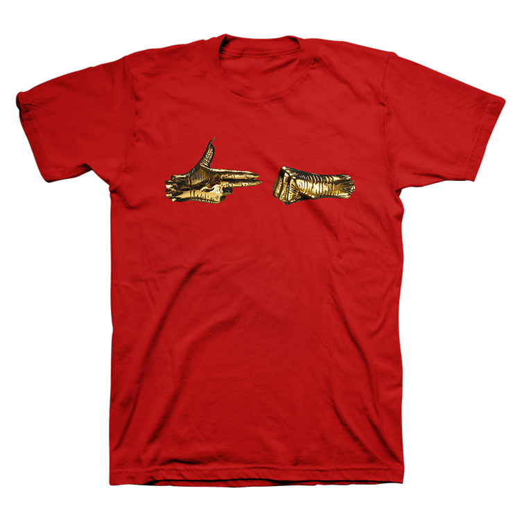 Buy Online Run The Jewels - RTJ3 Red Album Tee