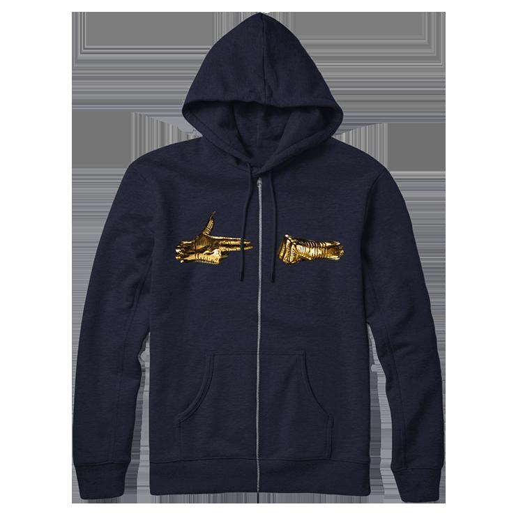 Buy Online Run The Jewels - RTJ3 Navy Zip Hoodie