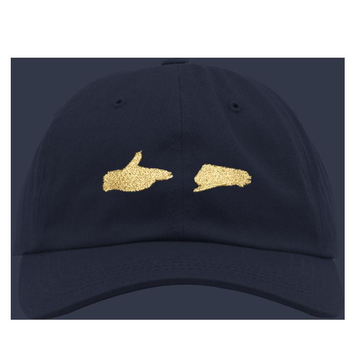 Buy Online Run The Jewels - RTJ3 Navy Metallic Dad Hat