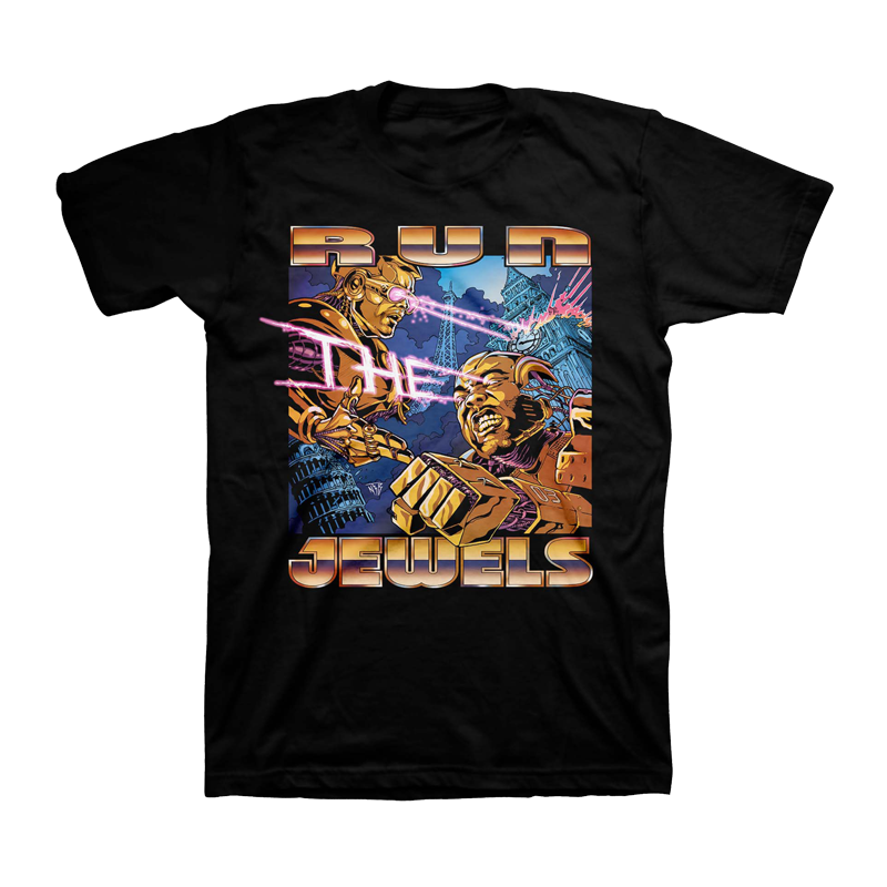 Buy Online Run The Jewels - UK Tour T-Shirt
