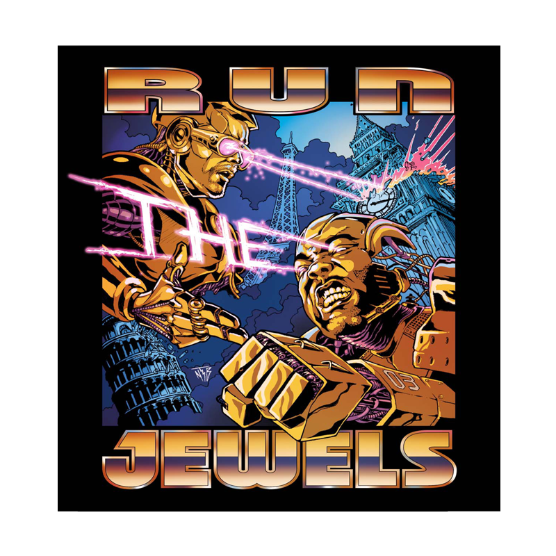Buy Online Run The Jewels - UK Tour Poster