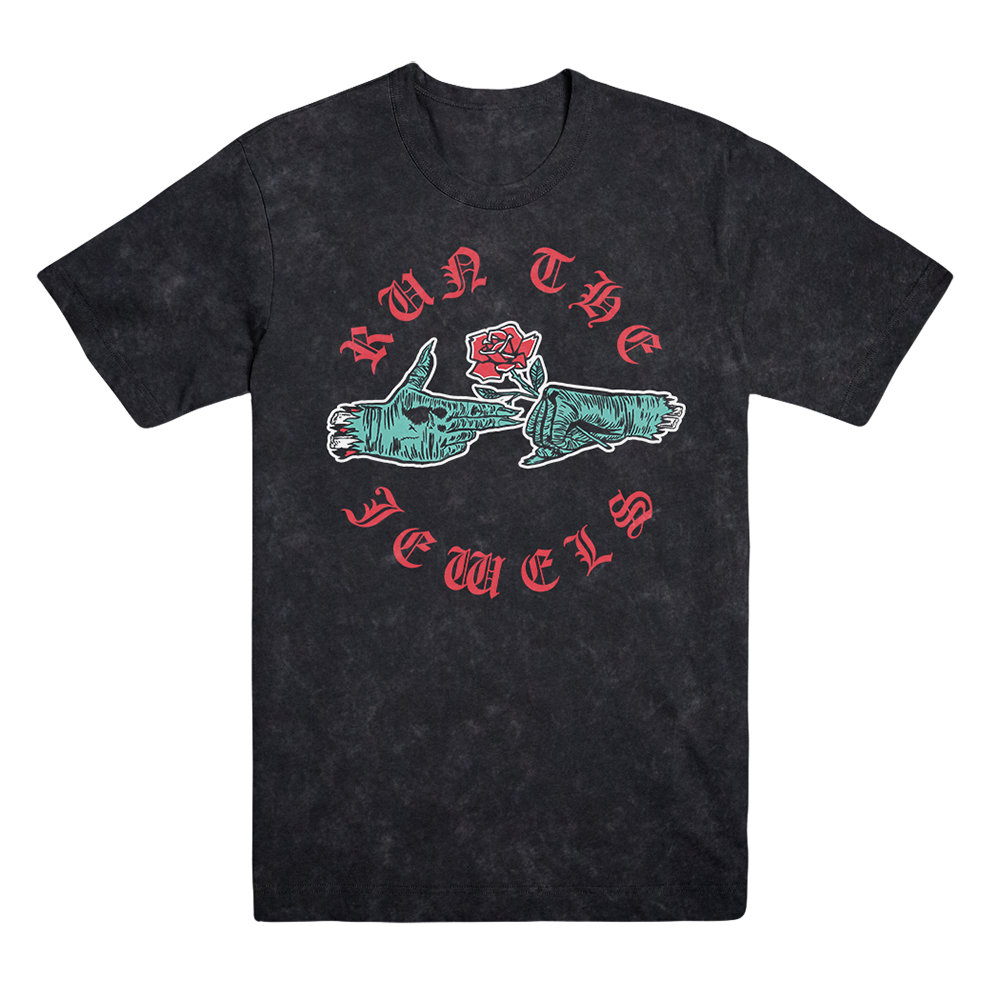 Buy Online Run The Jewels - Rose Zombie Hands T-Shirt