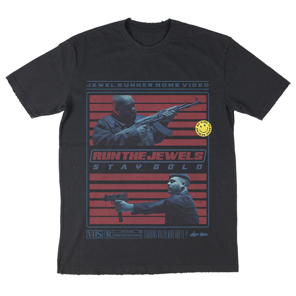 Buy Online Run The Jewels - Unisex VHS T-Shirt