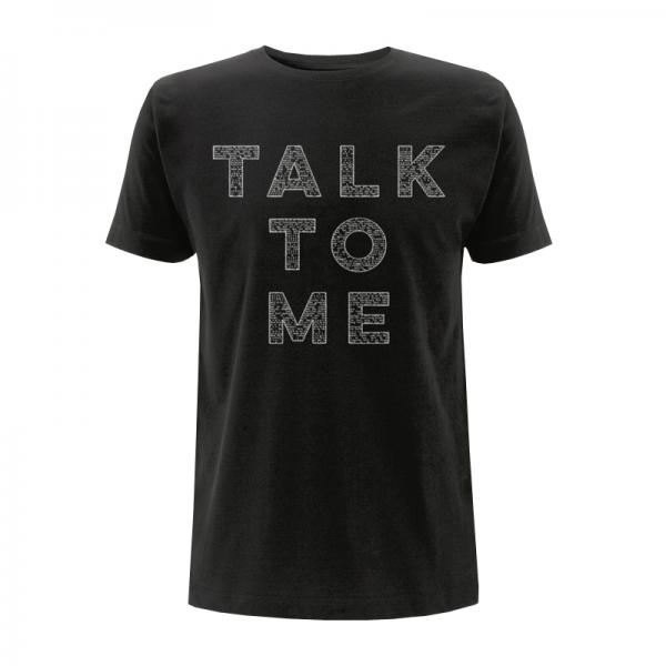 Buy Online Saint Anthony - Talk To Me Black T-Shirt