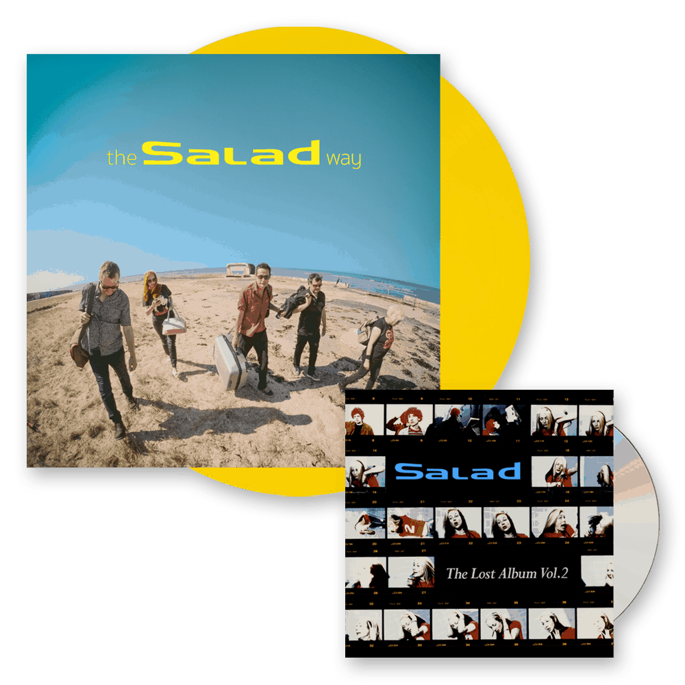 Buy Online Salad - The Salad Way Yellow Vinyl (Signed) + The Lost Album Vol. 2 CD Album