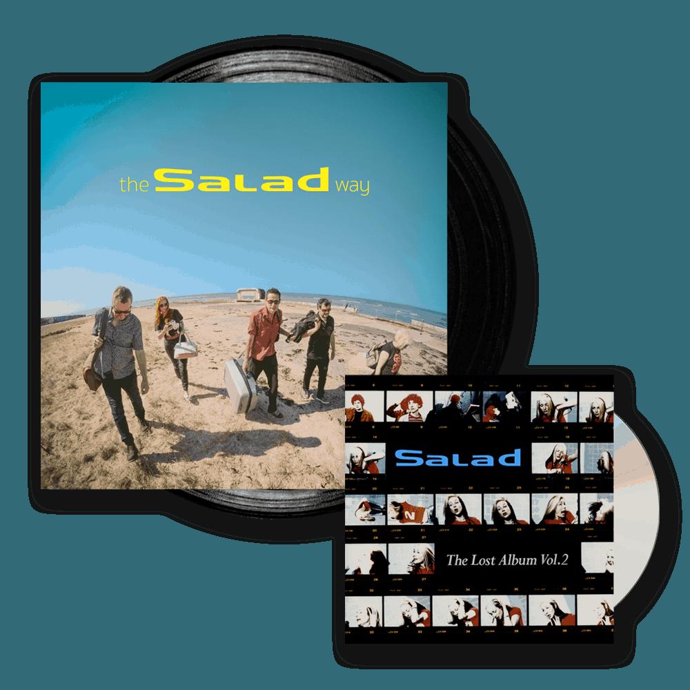 Buy Online Salad - The Salad Way Black Vinyl (Signed) + The Lost Album Vol. 2 CD Album