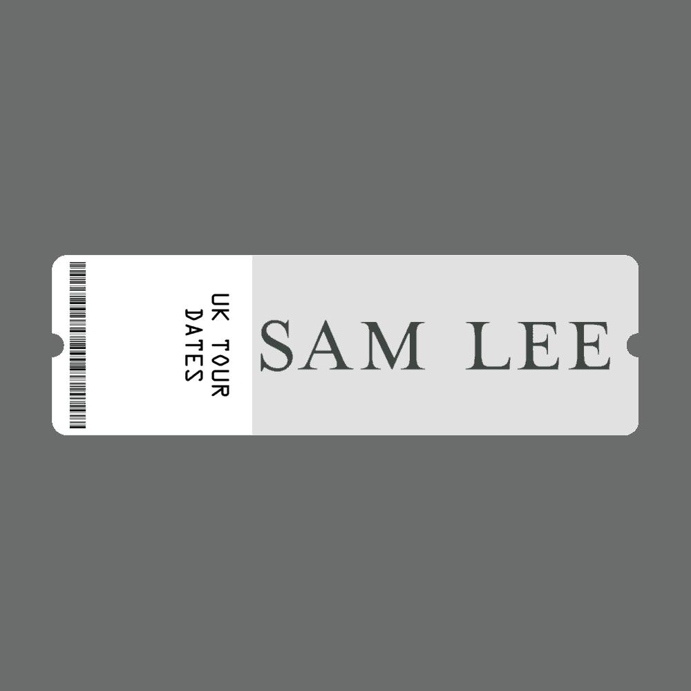 Buy Online Sam Lee - Gig Ticket - 2020