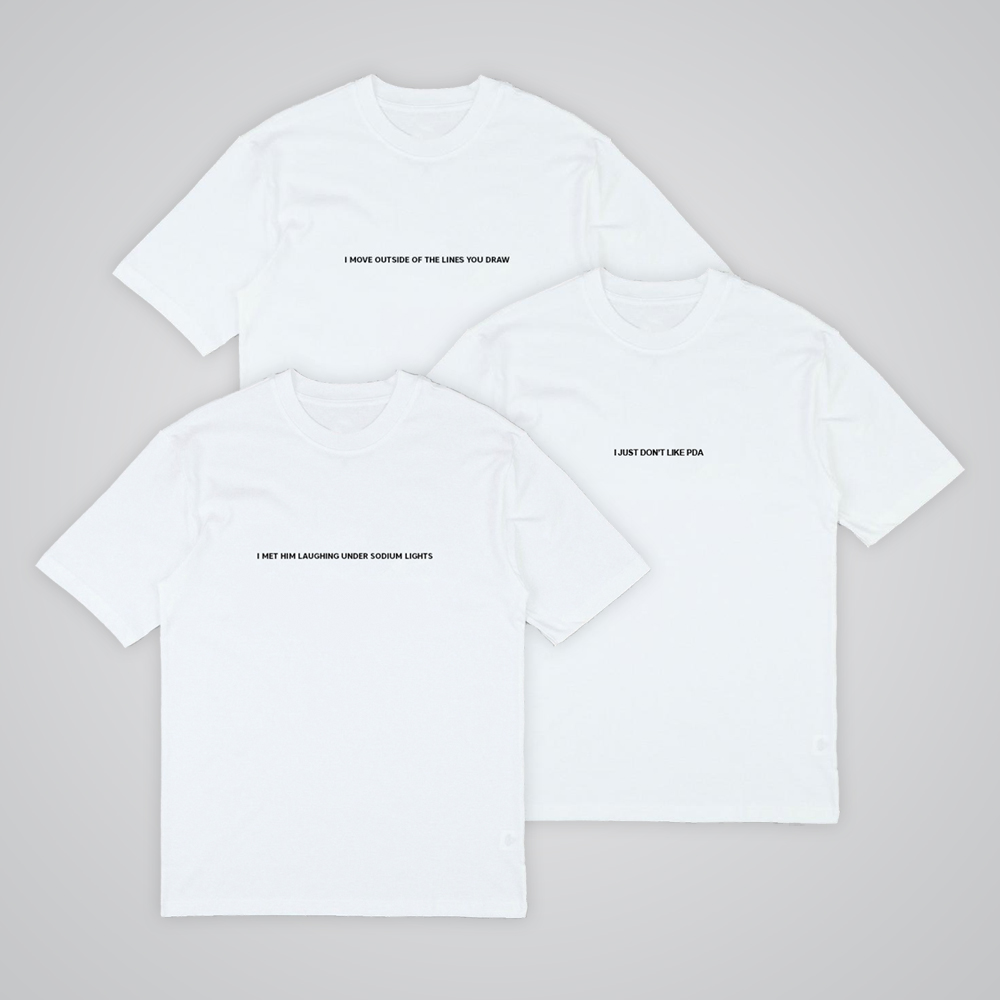 Buy Online Sarah Close - Three T-Shirt Bundle