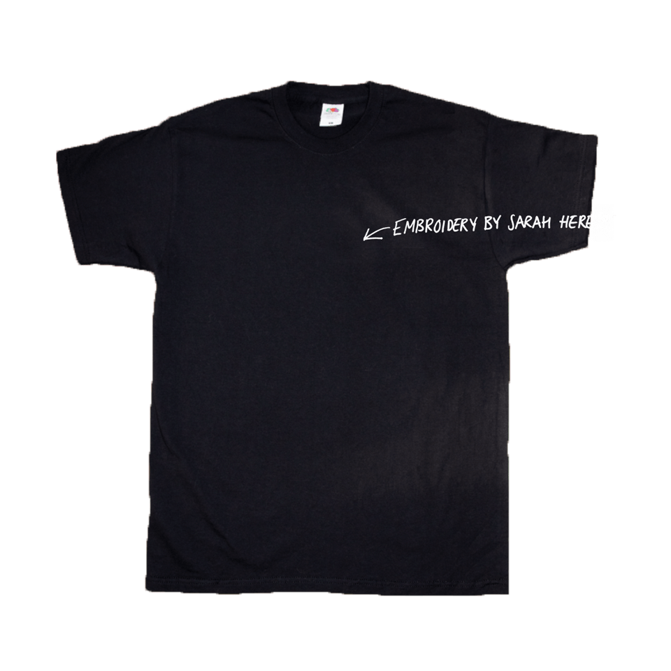 Buy Online Sarah Close - Sarah Hand Embroidered T-Shirt