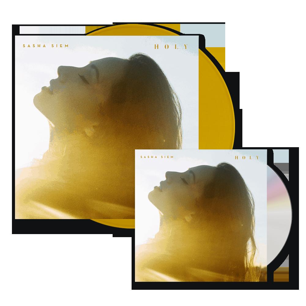 Buy Online Sasha Siem - Holy CD Album (Signed) + Vinyl (Signed)