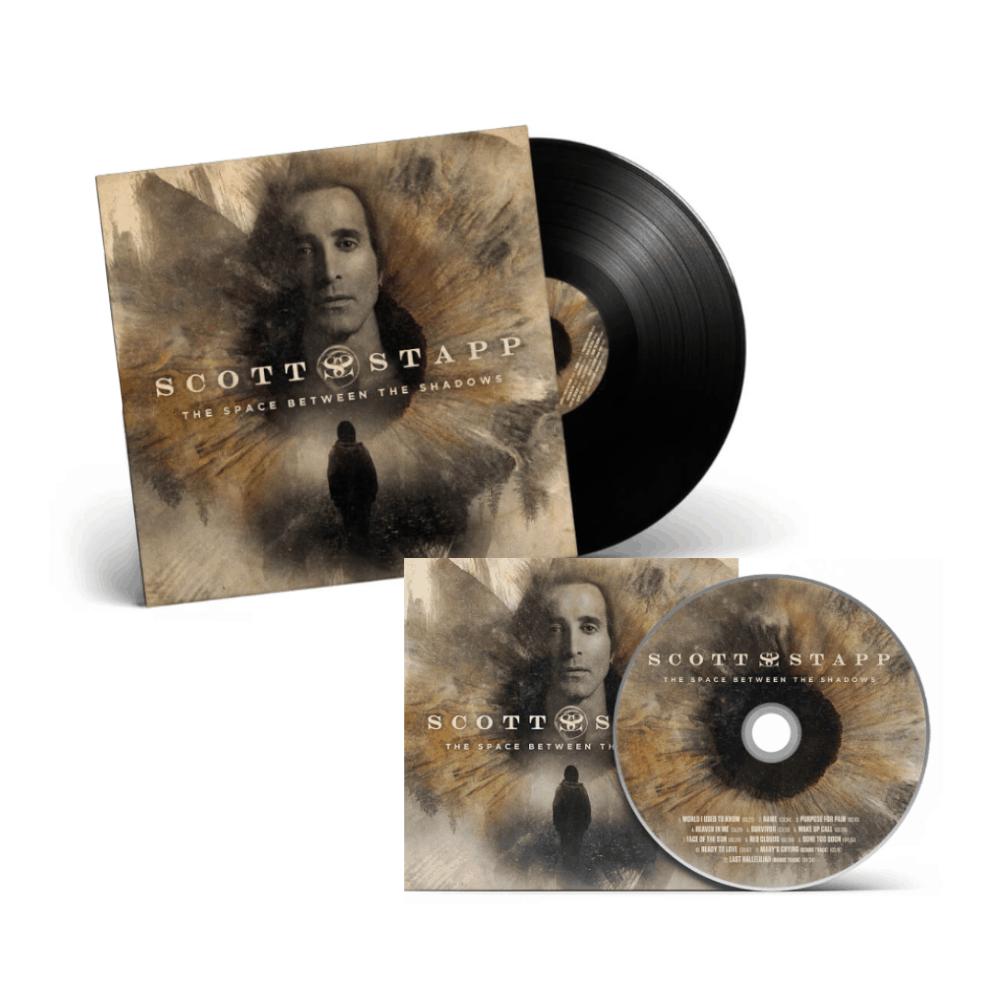 Buy Online Scott Stapp - The Space Between The Shadows CD + Black Vinyl