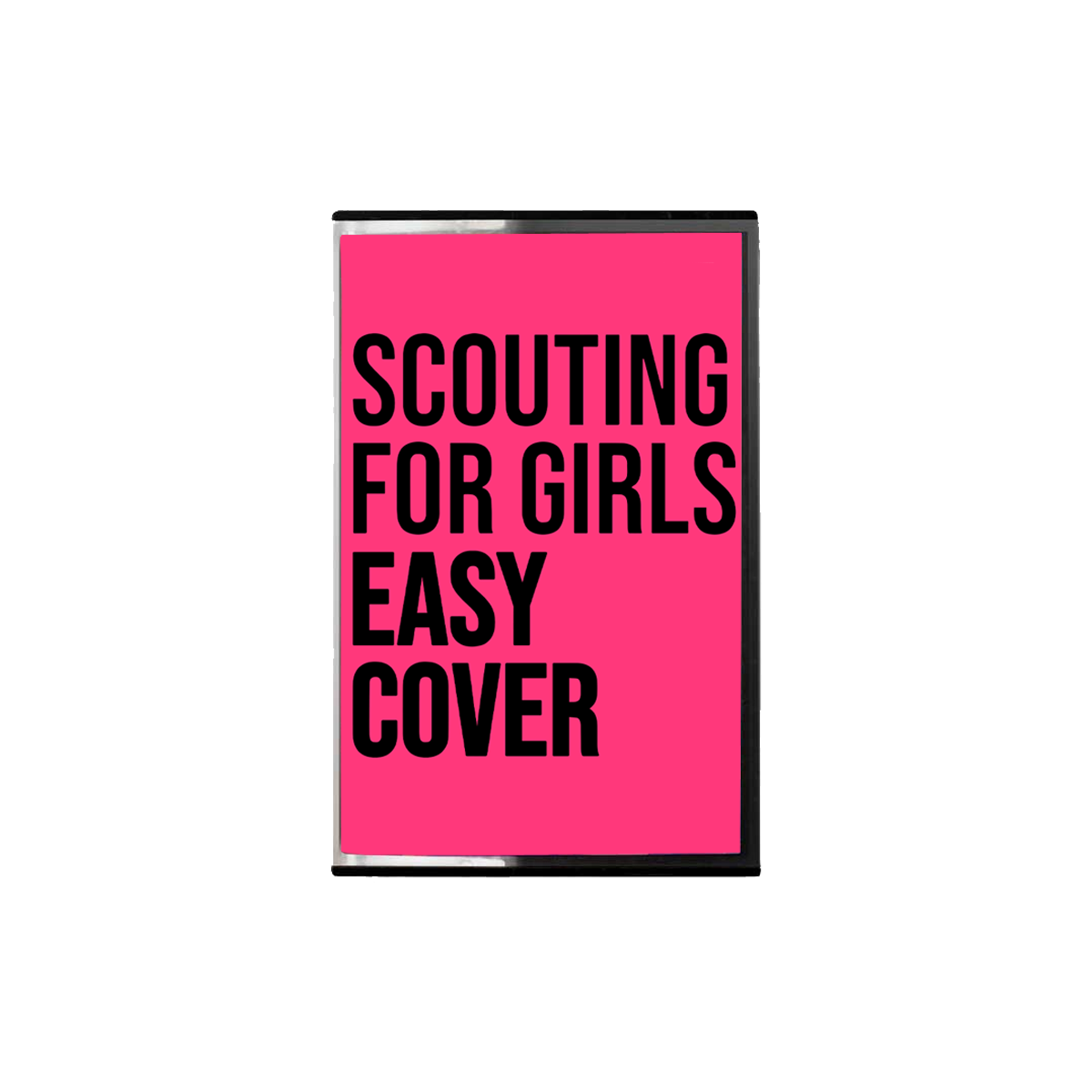 Buy Online Scouting For Girls - Easy Cover Pink Cassette