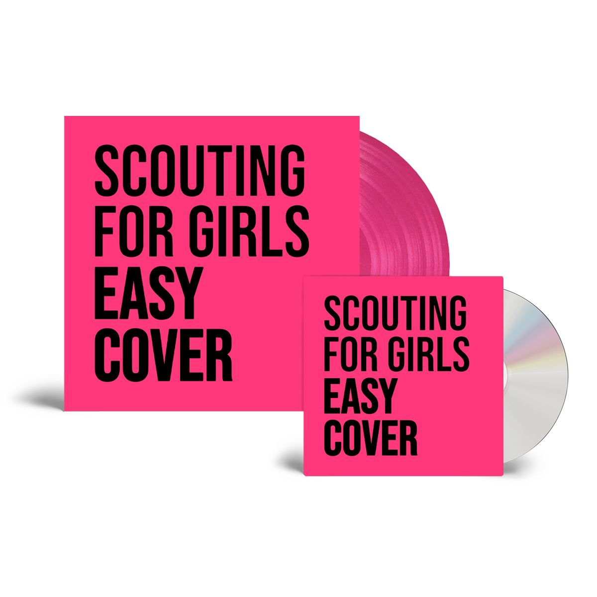 Buy Online Scouting For Girls - Easy Cover CD (Signed) + Pink Vinyl (Signed, Numbered)