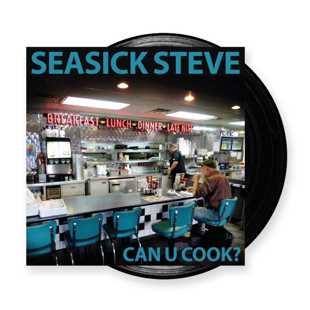 Buy Online Seasick Steve - Can U Cook? Black 180g Vinyl LP