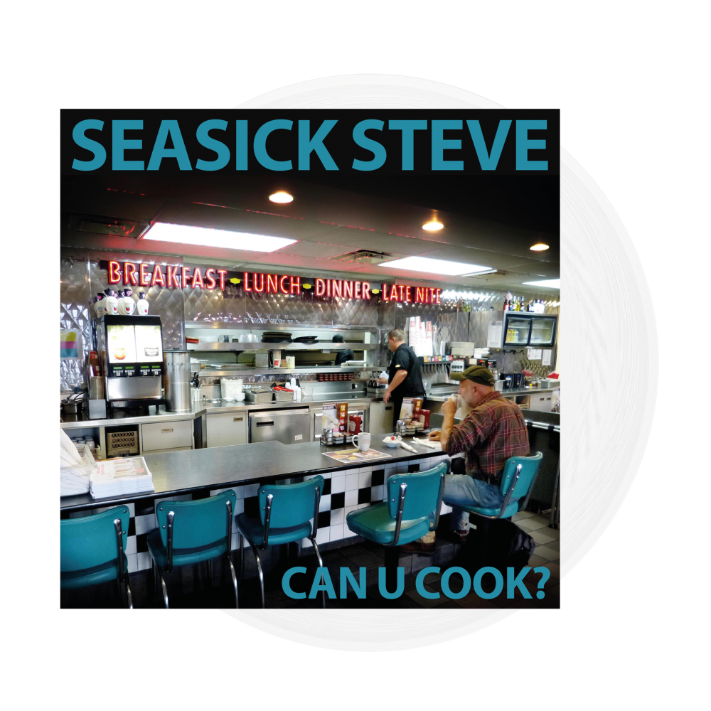 Buy Online Seasick Steve - Can U Cook? Clear 180g Vinyl LP (Ltd Edition)