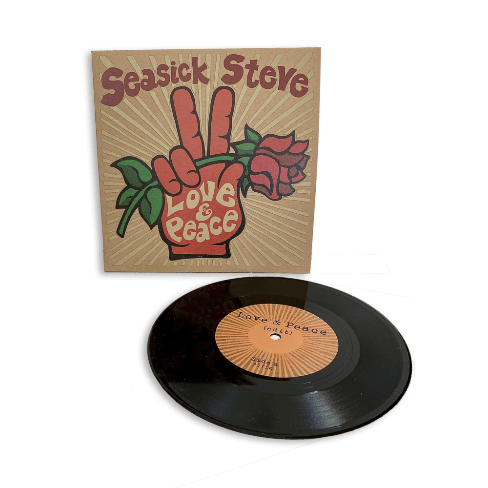 Buy Online Seasick Steve - Love & Peace