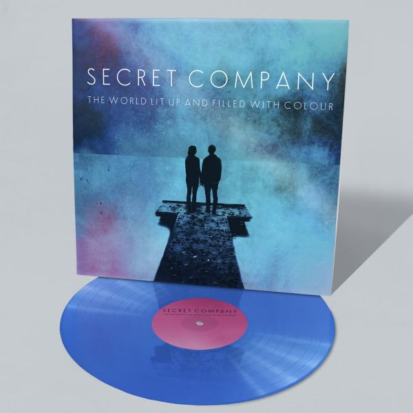 Buy Online Secret Company - The World Lit Up And Filled With Colour (Signed Ltd Edition Blue Vinyl) + Bonus EP