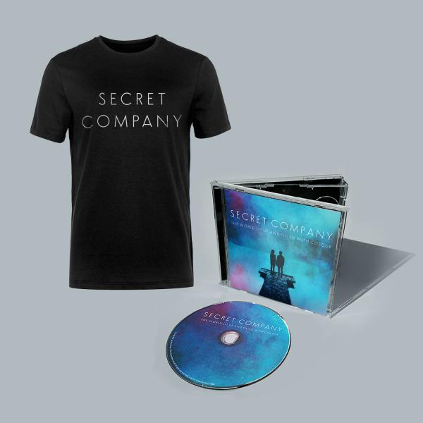 Buy Online Secret Company - The World Lit Up And Filled With Colour CD (Signed) + Bonus EP + T-Shirt