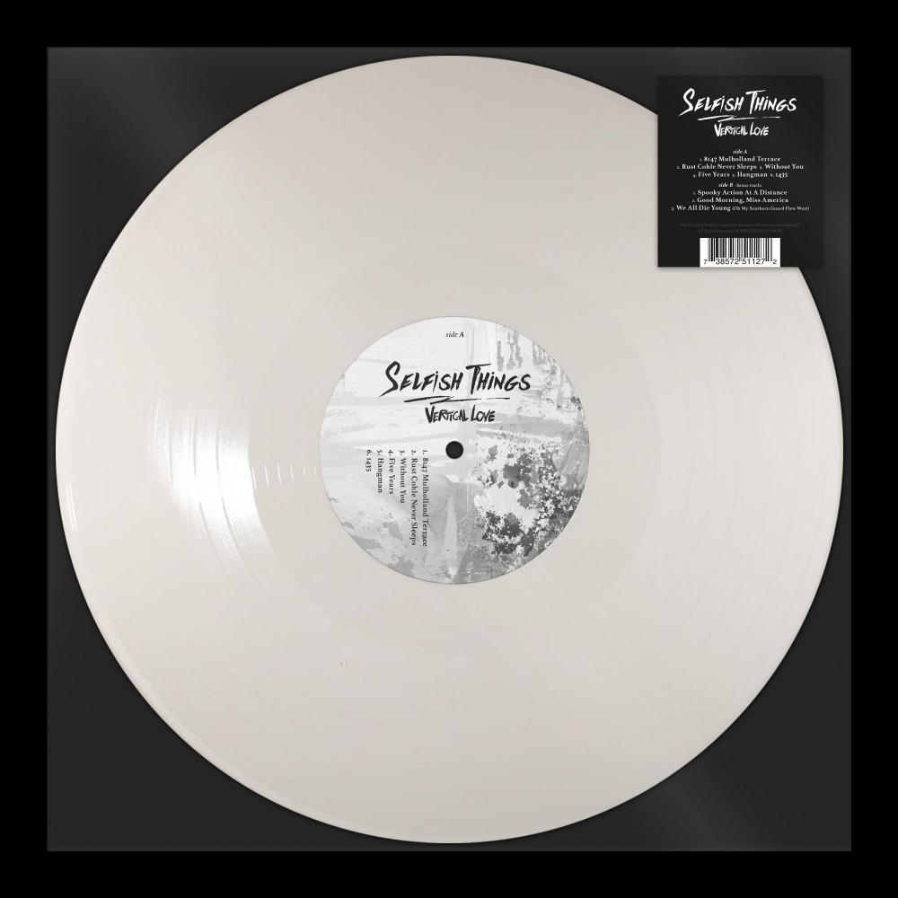 Buy Online Selfish Things - Vertical Love White (Ltd Edition)
