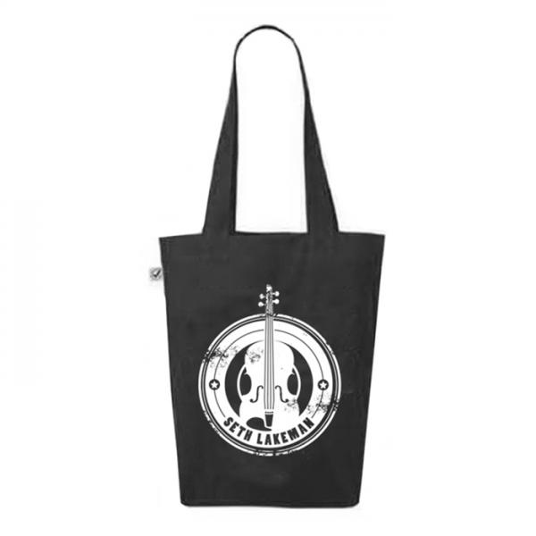 Buy Online Seth Lakeman - New Logo Black Tote Bag