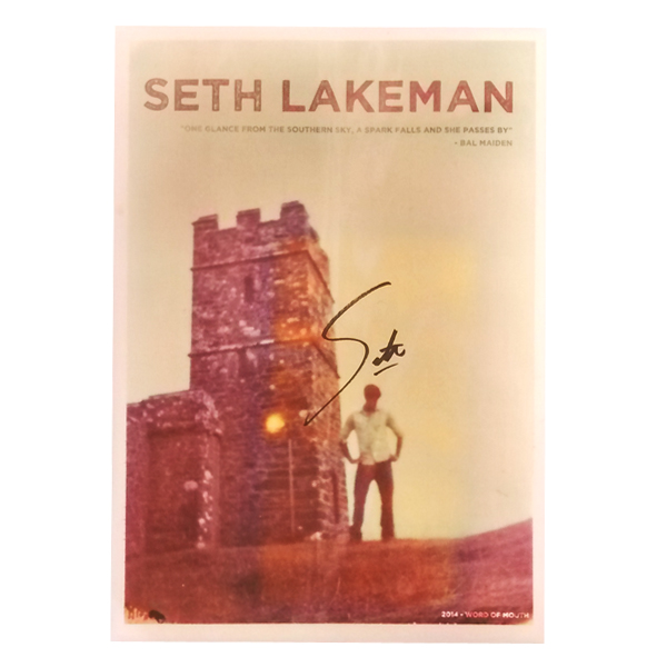 Buy Online Seth Lakeman - Signed Word Of Mouth Artwork Print