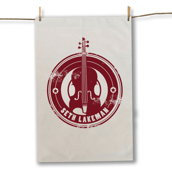 Buy Online Seth Lakeman - Red Tea Towel