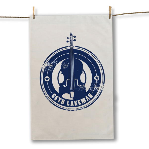 Buy Online Seth Lakeman - Blue Tea Towel