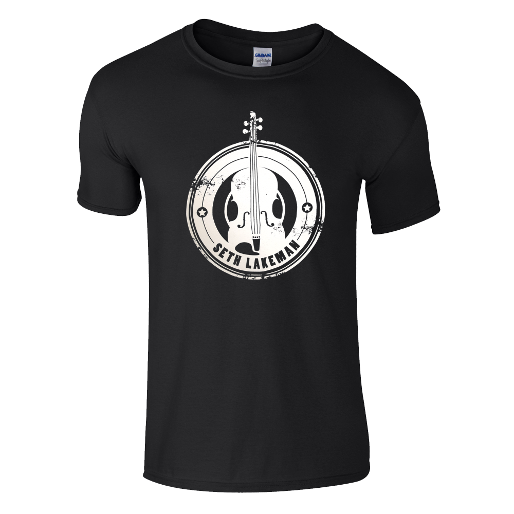 Buy Online Seth Lakeman - Black Violin T-Shirt