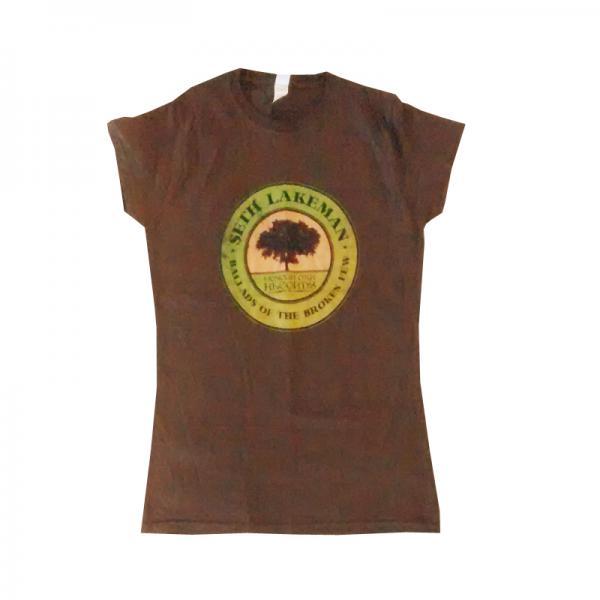 Buy Online Seth Lakeman - Ladies Ballads Of The Broken Few Brown T-Shirt