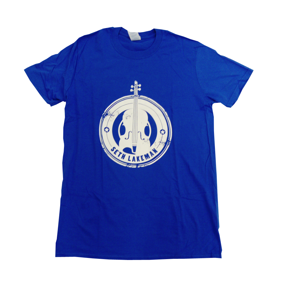 Buy Online Seth Lakeman - Blue Violin T-Shirt