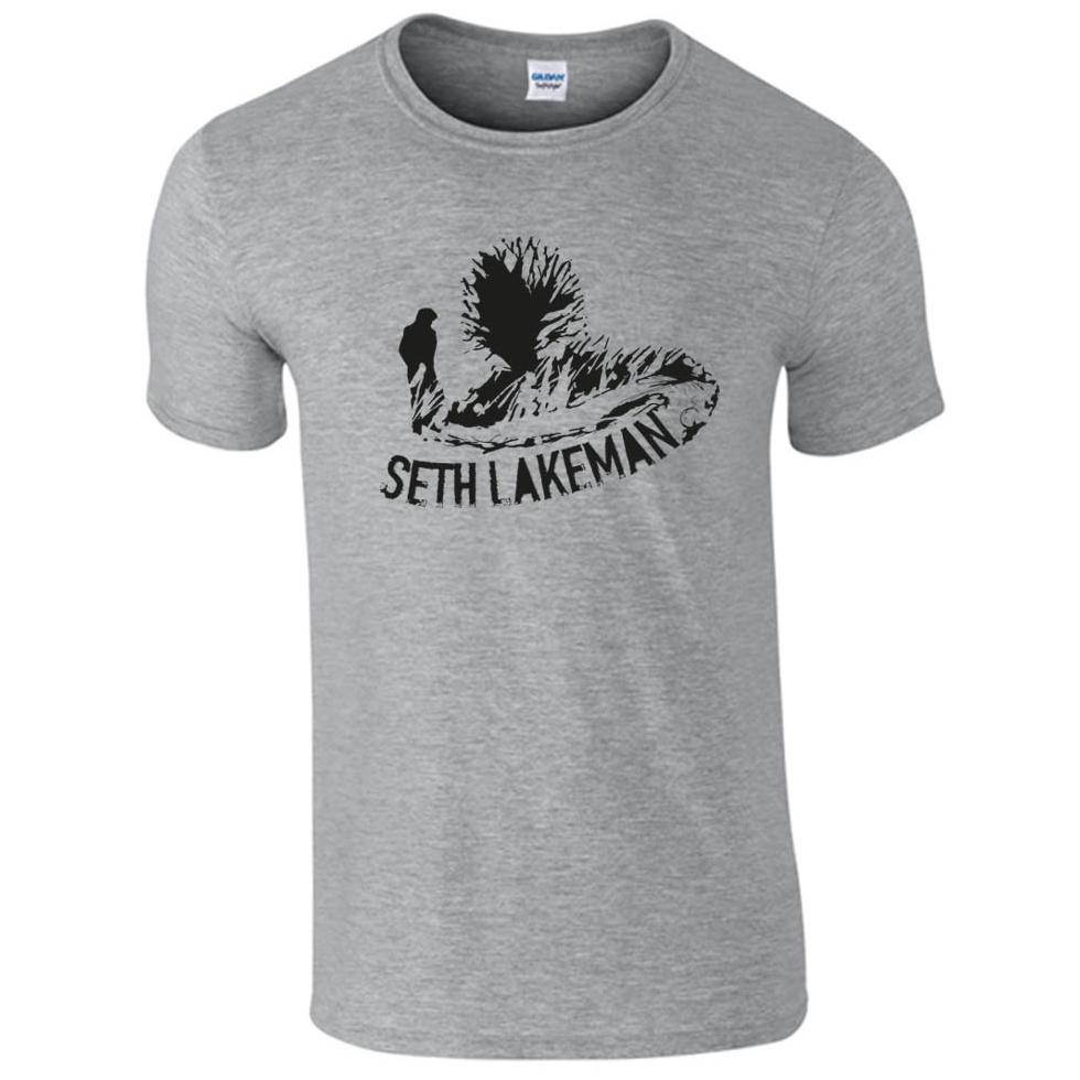 Buy Online Seth Lakeman - New Grey T-Shirt