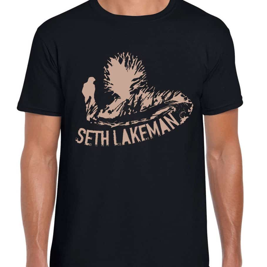 Buy Online Seth Lakeman - New Black T-Shirt