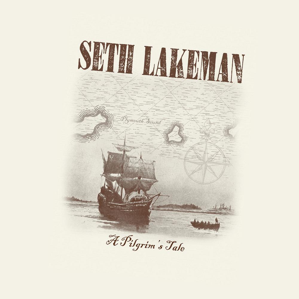 Buy Online Seth Lakeman - A Pilgrim's Tale Tea Towel