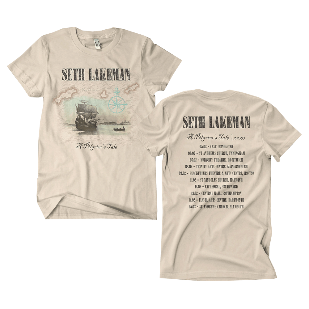 Buy Online Seth Lakeman - A Pilgrim's Tale T-Shirt