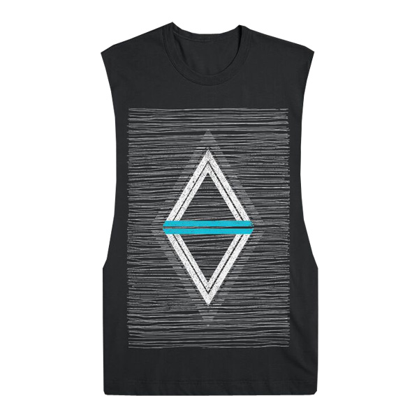 Buy Online Set It Off - Scratch Diamond Sleeveless T-Shirt