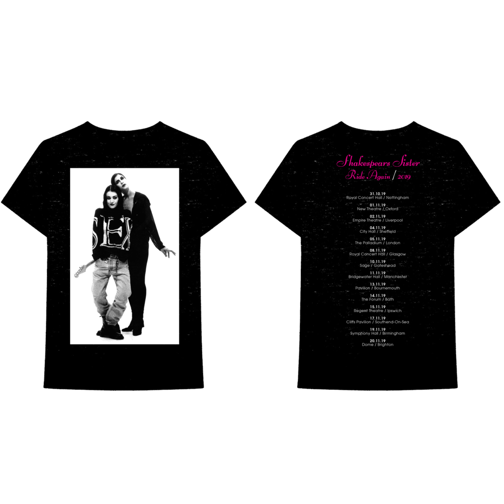 Buy Online Shakespears Sister - Hormonally Yours Tour T-Shirt
