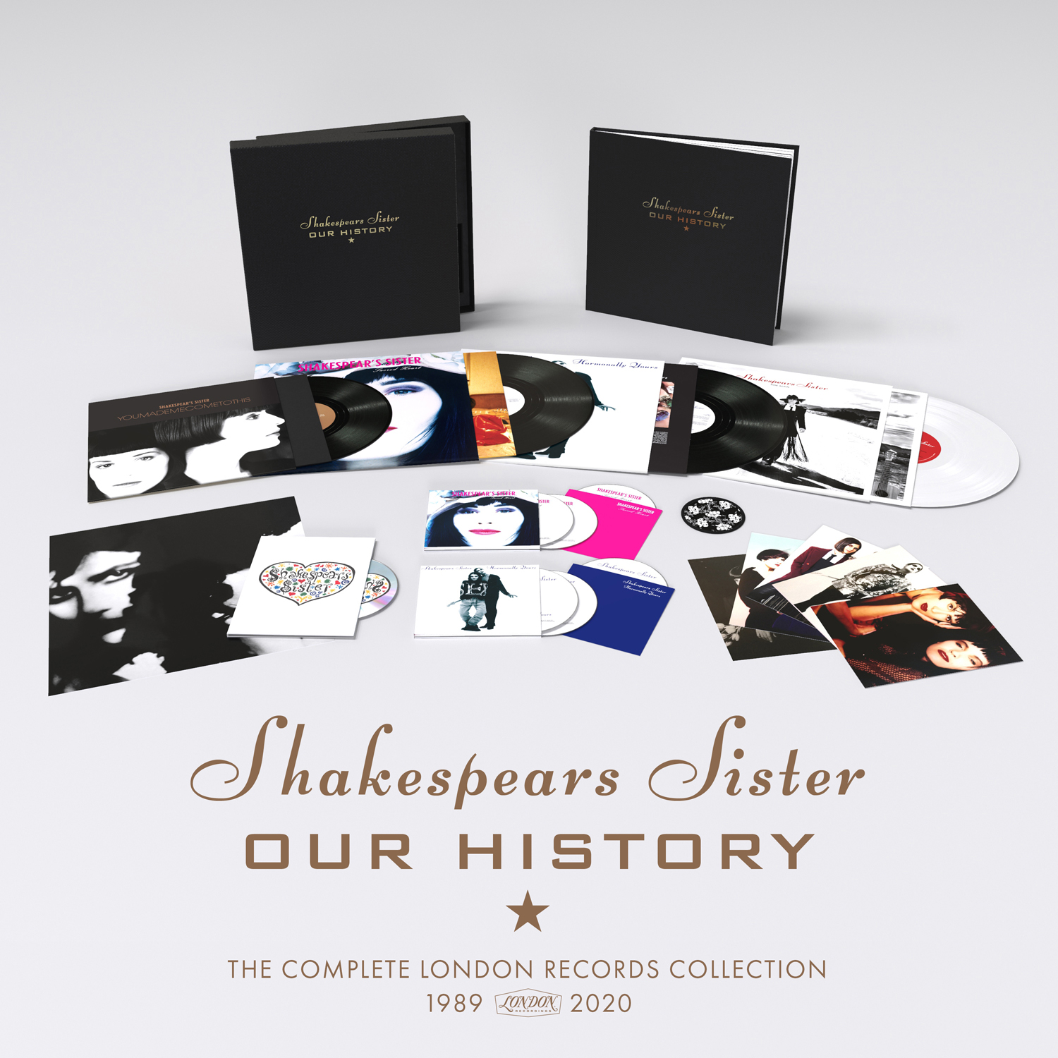 Buy Online Shakespears Sister - Our History (The Complete London Records Collection)